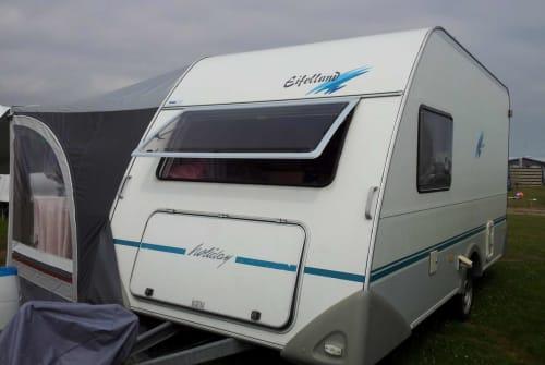 Caravan Knaus Wohnwagen für Zwei - klein aber fein in Edewecht huren van particulier
