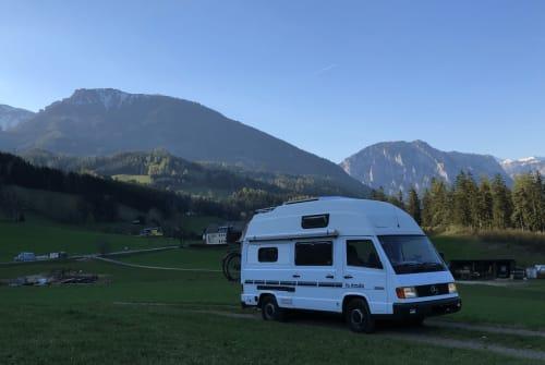Kampeerbus Mercedes Kutter in Wien huren van particulier