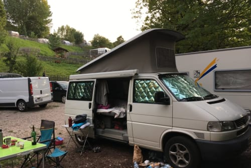 Kampeerbus Volkswagen Cruiser in Karlsruhe huren van particulier