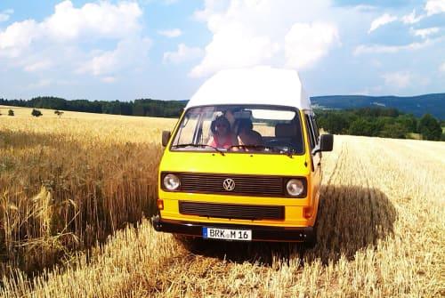 Kampeerbus VW Konstantin in Erlangen huren van particulier
