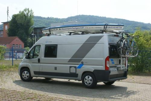 Buscamper Fiat Sun Living V60SP Lido Hybrid R2D2 Fiat in Jena huren van particulier