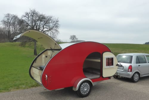Caravan Wanderer Midi Teardrop in Bad Herrenalb huren van particulier