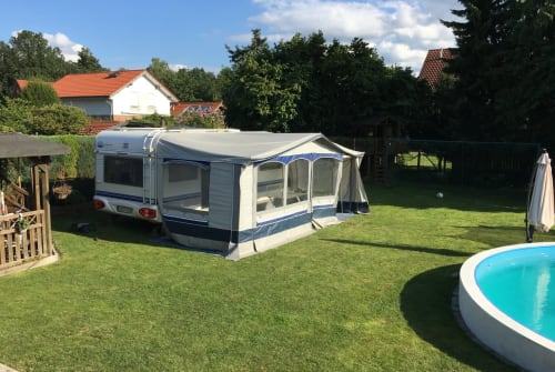 Caravan Hobby  540 UFE Weltenbummler in Gronau (Westfalen) huren van particulier