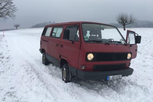 Kampeerbus Volkswagen  Paul in Weil am Rhein huren van particulier