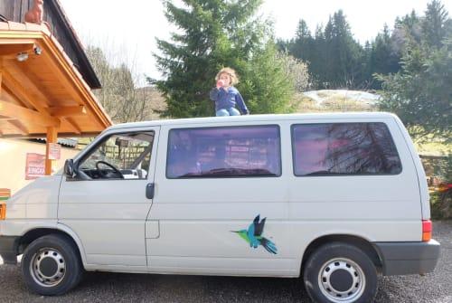 Kampeerbus Volkswagen  Tia Polola in Augsburg huren van particulier