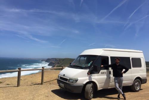 Kampeerbus Ford  Kurti  in Lisboa huren van particulier