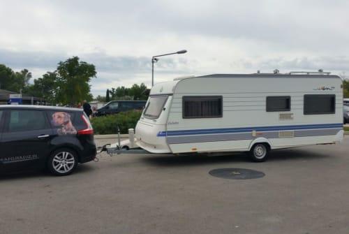 Caravan Hobby Bolle in Katzwinkel huren van particulier
