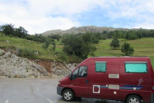 Buscamper Peugeot Freedolin in Augsburg huren van particulier