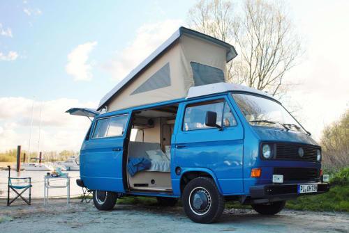 Kampeerbus Volkswagen Hein in Wedel huren van particulier