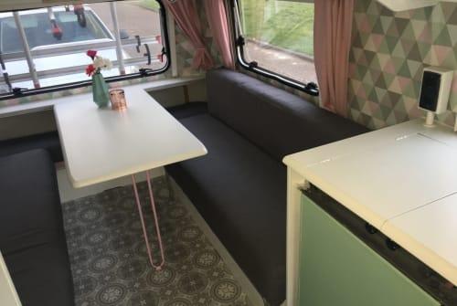 Caravan Eriba  Eriba toering  in Utrecht huren van particulier
