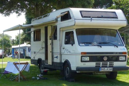 Alkoof Volkswagen LT 31 Myles in Gernsbach huren van particulier