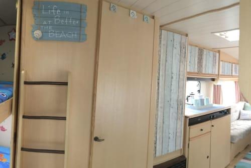 Caravan LMC Strandhaus für 5 in Haldenwang huren van particulier