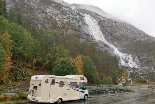 Alkoof Ahorn Luxus Camper Schmiddy mit Automatik - 170PS in Ludwigsburg huren van particulier