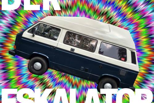 Kampeerbus Volkswagen Der Eskalator 3000 in Berlin huren van particulier