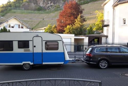 Caravan Knaus Vintage Wohnwagen in Bad Honnef huren van particulier