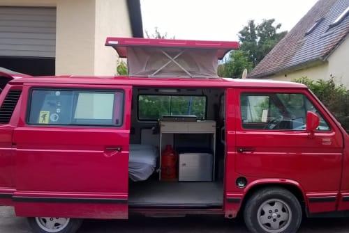 Kampeerbus Volkswagen Elli in Kranzberg huren van particulier