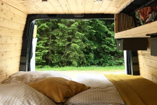 Buscamper Volkswagen August der treue Crafter in Erfurt huren van particulier