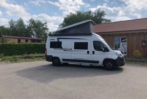 Buscamper Pössl Funmobil in Erkheim huren van particulier