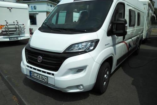 Buscamper Fiat Manni in Solingen huren van particulier