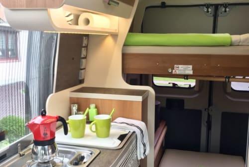 Buscamper Fiat Ducato Van-y in Stuhr huren van particulier