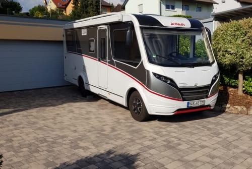 Integraal Dethleffs Globebus in Haßfurt huren van particulier