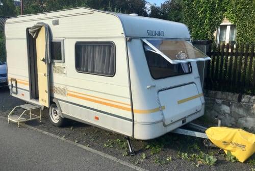 Caravan Knaus Südwind 8505 in Jesewitz huren van particulier