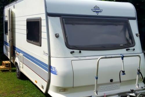 Caravan Hobby Hobby 540 UL in Finsterwalde huren van particulier
