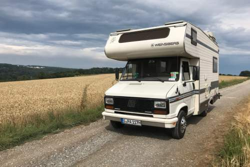 Alkoof Fiat SPA-Mobil in Stuttgart huren van particulier
