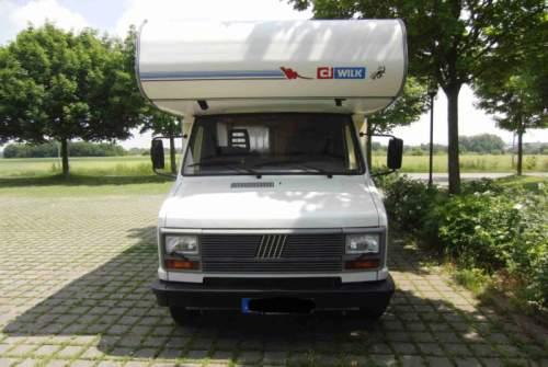 Alkoof Fiat ducato 280 wilk in Bottrop huren van particulier