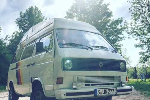 Kampeerbus Volkswagen Sunny in Stuttgart huren van particulier