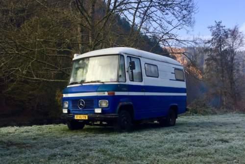 Buscamper Mercedes Maui in Leiden huren van particulier