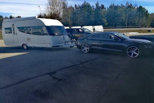 Caravan HOBBY Premium  JASILE in Villach huren van particulier