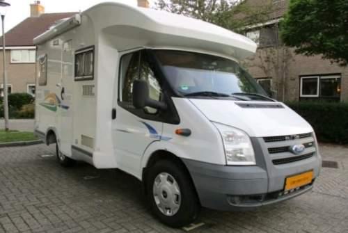 Halfintegraal Ford Camper in Heerjansdam huren van particulier