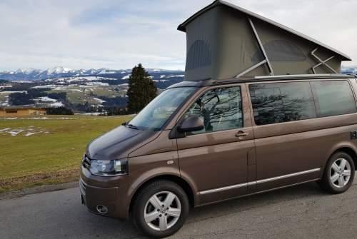 Kampeerbus VW Bulli - Arno in Scheidegg huren van particulier