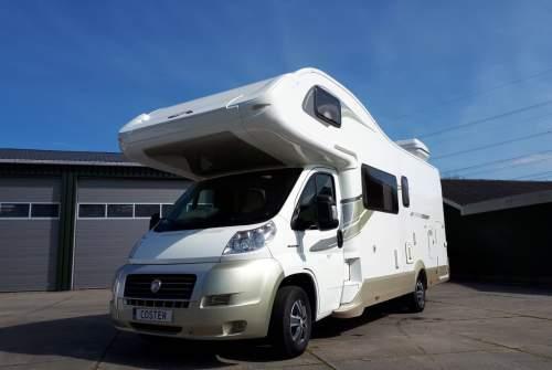 Alkoof Fiat  Camper 1 in Utrecht huren van particulier