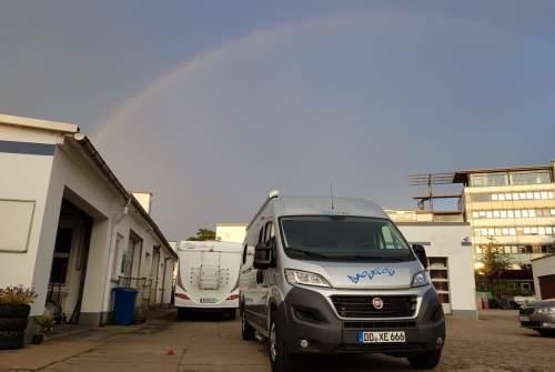 Buscamper SunLiving   Basti´s 2018 in Dresden huren van particulier