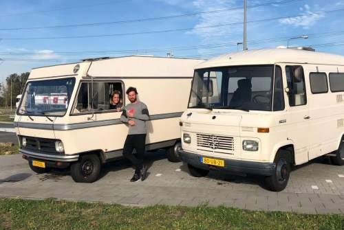 Alkoof Hymer CamperFest #3 in Amsterdam huren van particulier