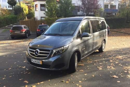 Kampeerbus Mercedes Benz Schorsch in Paderborn huren van particulier