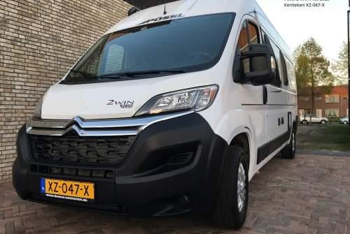 Buscamper Pössl  Luxe buscamper in Bleiswijk huren van particulier