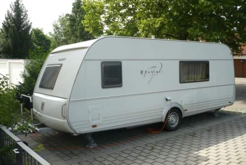Caravan Tabbert Luxuscamper Tabbert da Vinci in Zetterei huren van particulier