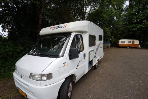 Buscamper Fiat Ducato Tibsfun in Delft huren van particulier