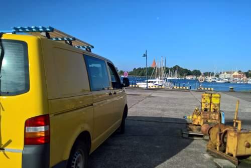 Kampeerbus Volkswagen Yellow in Emden huren van particulier