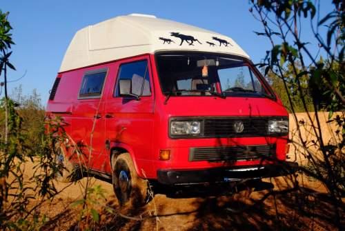 Kampeerbus Volkswagen Gustavo in Sevilla huren van particulier