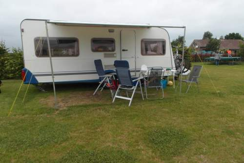 Caravan Knaus Familie caravan le soleil in Leerbroek huren van particulier