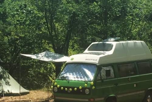 Kampeerbus Volkswagen  Granny  in Ter Apel huren van particulier