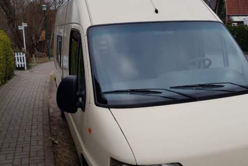 Buscamper Peugeot Eggbert in Bernau bei Berlin huren van particulier