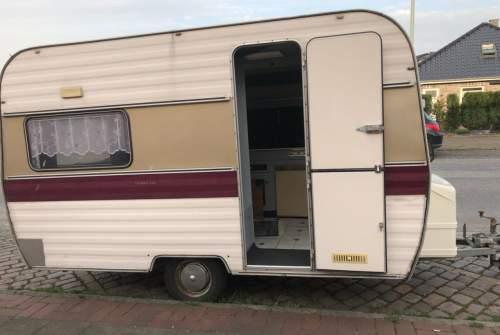Caravan Hobby Speedy in Bremerhaven huren van particulier