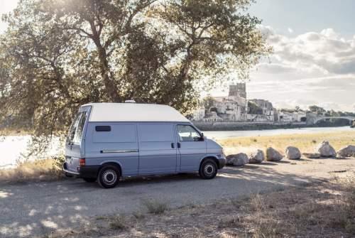 Kampeerbus VW Muli 2.0 in Dresden huren van particulier