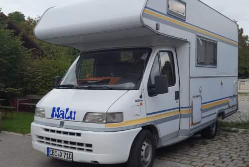 Alkoof Fiat Ducato MaLu in Hohenlinden huren van particulier