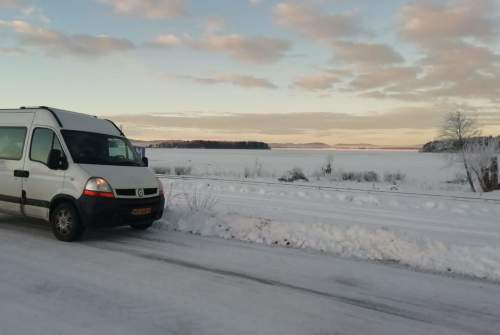 Buscamper Renault Wintercamper G. in gemeente Groningen huren van particulier